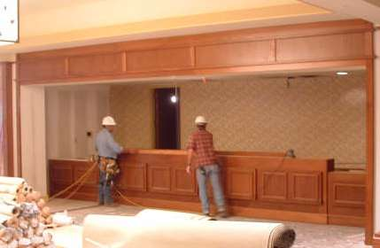 Custom Installation by Wingate Architectural Millwork